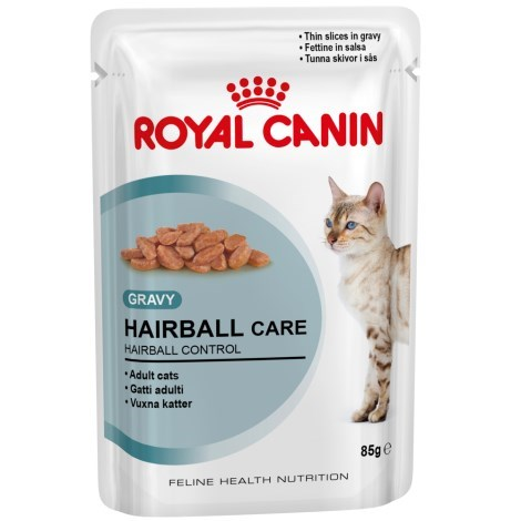 Kapsička kočka Royal Canin Hairball Care 85g