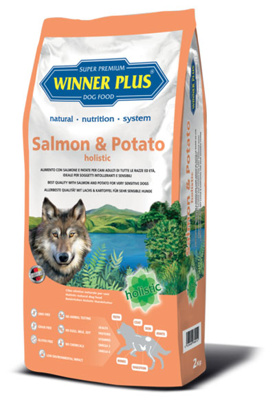 Winner Plus Salmon&Potato holistic 2kg
