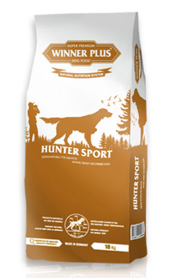 Winner Plus Hunter Sport 18kg + 3x100g PERRITO pamlsek ZDARMA