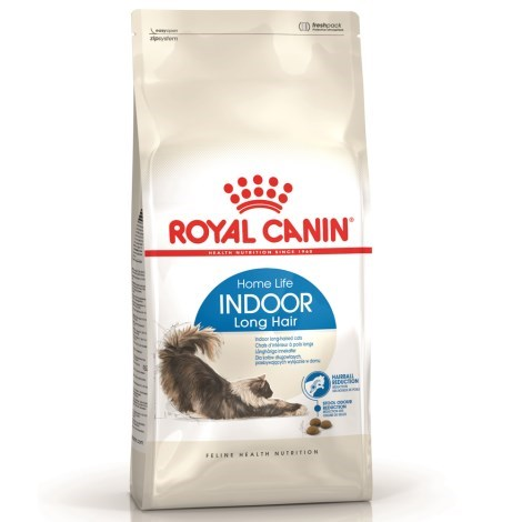 Granule kočka Royal Canin Cat Indoor Long Hair 400g
