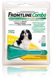 Antiparazitika Frontline Combo S Spot-On Dog do 10kg,1x.067ml