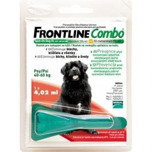 Antiparazitika Frontline Combo XL Spot-On Dog nad 40kg,1x4.02ml