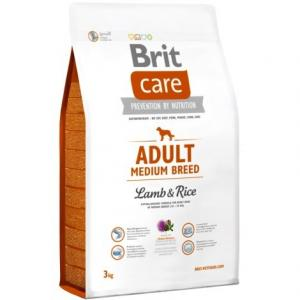 Brit Care Adult Medium Breed Lamb&Rice 3kg