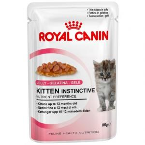 Kapsička kočka Royal Canin Kitten Instictive in jelly 85g