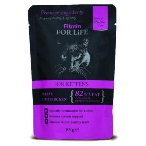 Kapsička kočka Fitmin For Life Kitten chicken 85g