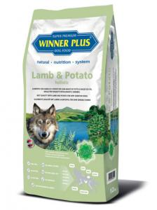 Winner Plus Lamb & Potato holistic 12 kg 3x100g PERRITO pamlsek ZDARMA