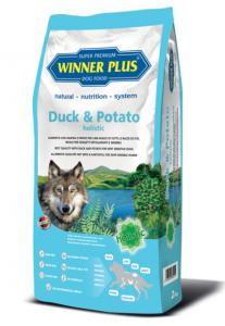 Winner Plus Duck&Potato holistic 2kg