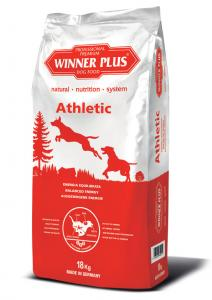 Winner Plus Athletic 18kg + 3x100g Perrito pamlsek ZDARMA